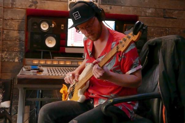 Maya_One Last Chance_drums & bass_The Aviary Recording Studio_20180924_0017b