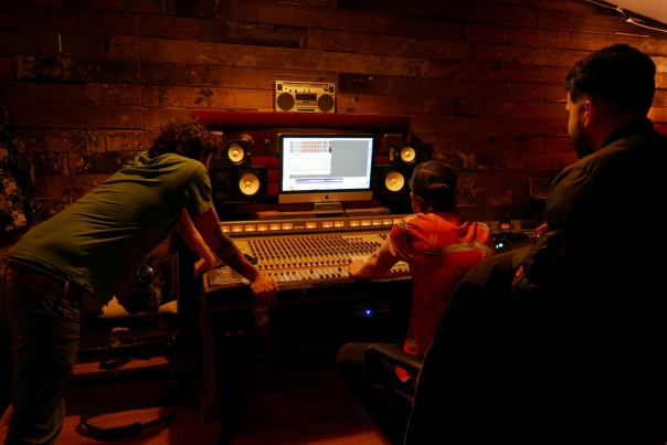 Maya_One Last Chance_drums & bass_The Aviary Recording Studio_20180924_0050a