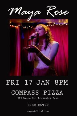 Compass Pizza Poster