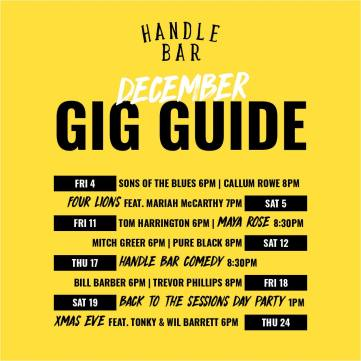 HANDLE BAR DEC 2020